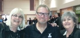 Pic Cathy Sherman, John Baker and Kathy Deane trim 270w